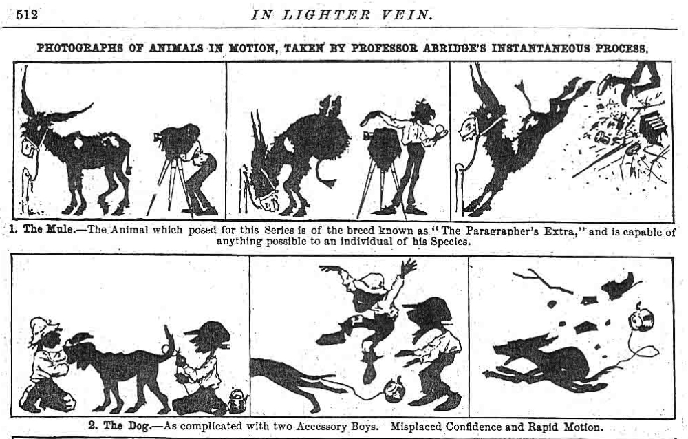 Professor Abridge's cartoon capers (1/6)