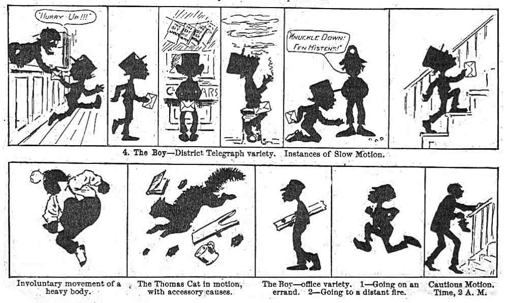 Professor Abridge's cartoon capers (2/6)